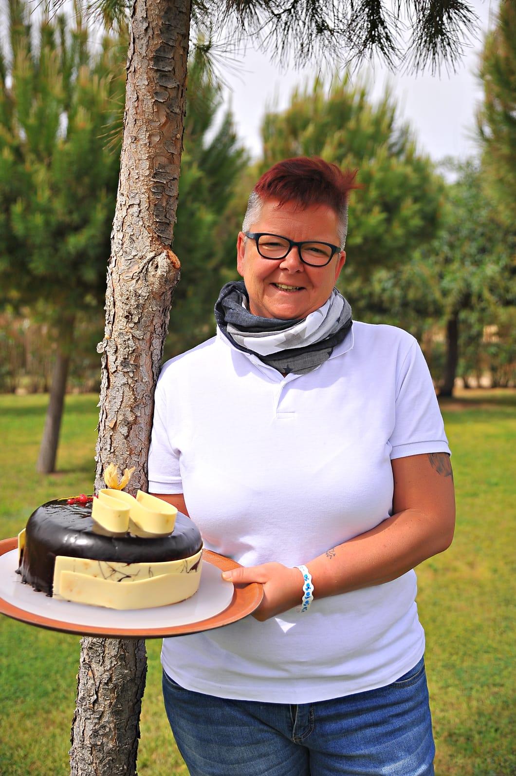 Manuela Heuser, Köchin und Konditormeisterin.