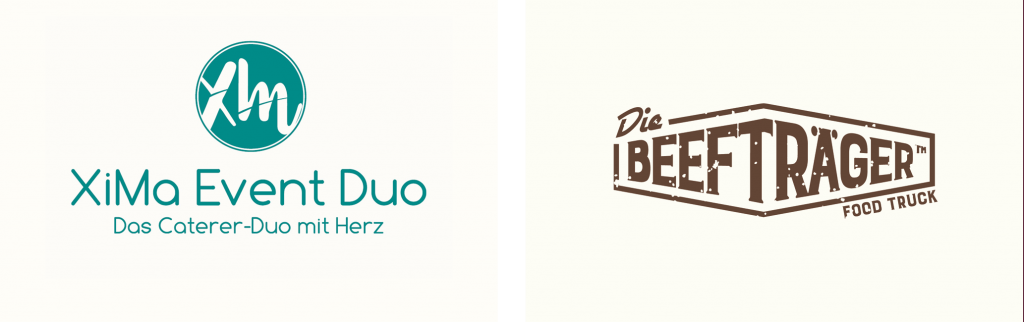 Logos der Kooperationspartner XiMa und Foodtruck Beefträger